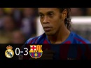 Real Madrid vs FC Barcelona 0-3 All Goals and Highlights with English Commentary 2005-06 HD 720p