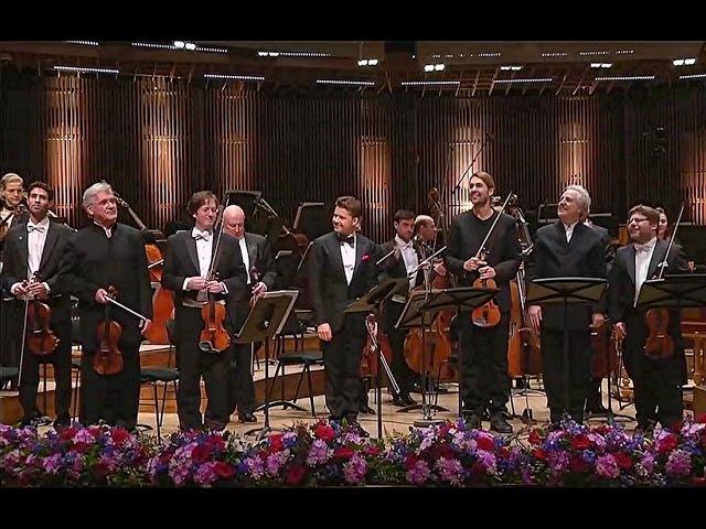 DAVID GARRETT: ♫ Konzert für 4 Violinen u. Orchester in h-moll ♫ ~ v.Vivaldi