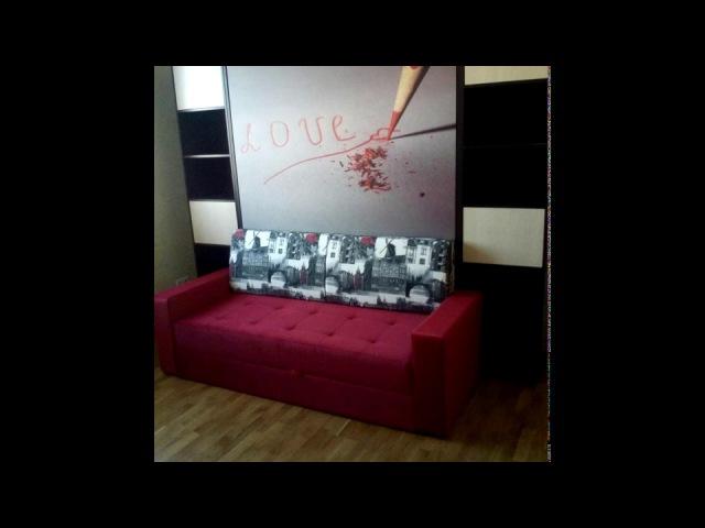 Видео отзыв www.интеллект-мебель.рф Вертикальная шкаф*кровать с диваном Виктория Н*160