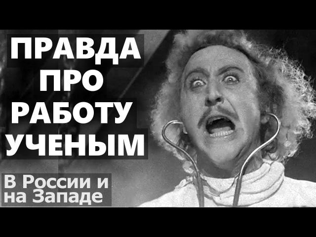 Минусы и ужасы работы ученым в России и на Западе