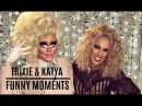 Trixie Mattel Katya Zamolodchikova Trixya Funny Moments