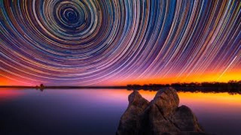 ЗВЁЗДЫ Ночное небо Time Lapse RELAX