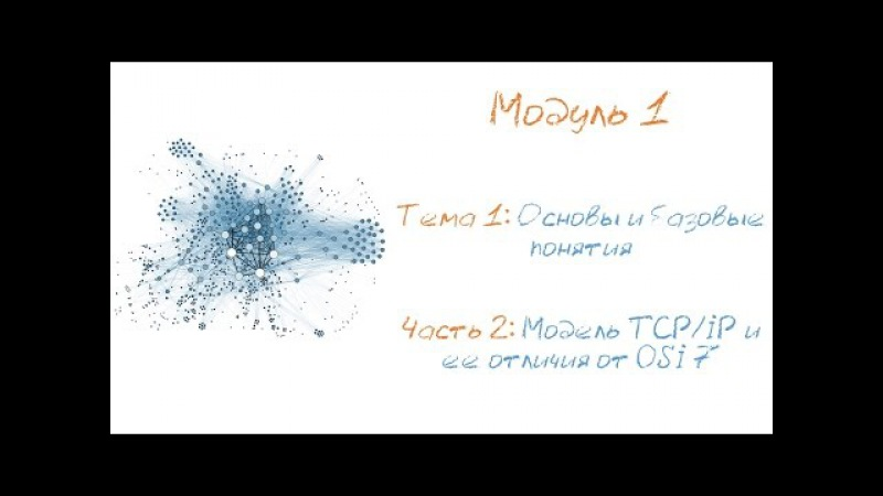 Модель стека протоколов TCP/IP и ее отличия от эталонной модель OSI. Как работает сет...