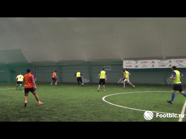 FOOTBIC.RU. Видеообзор 14.07.2017 (Метро Марьина Роща). Любительский футбол