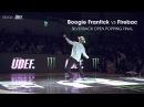 Boogie Frantick (USA) vs Firebac (KOR) ► Popping Final x Silverback Open 2017 x .stance ◄ |