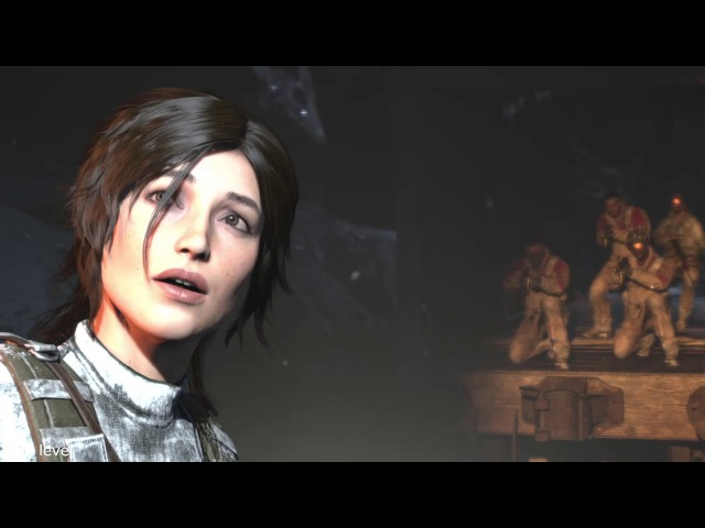 Uncharted 4 and Rise of the Tomb Rider. Video clip