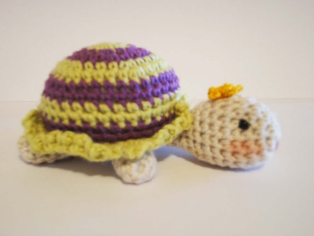 Вязаная ЧЕРЕПАХА Little Turtle Crochet