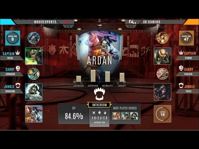 Quaterfinals SK GAMING vs MOUSESPORTS Vainglory 8 EU Autumn 2017 Week 3 Split 1