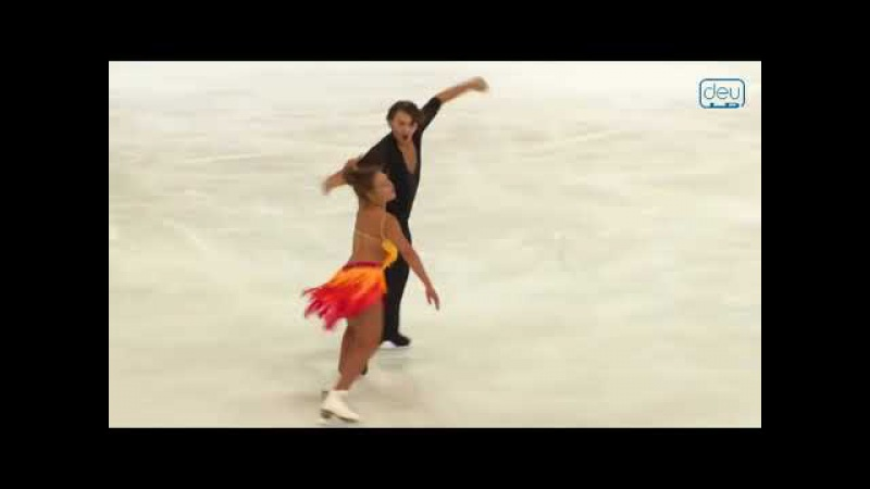 Kavita LORENZ / Joti POLIZOAKIS _ SD - Nebelhorn Trophy 2017
