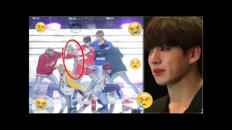 BTS Accident while Performing on Stage (All Scenes)