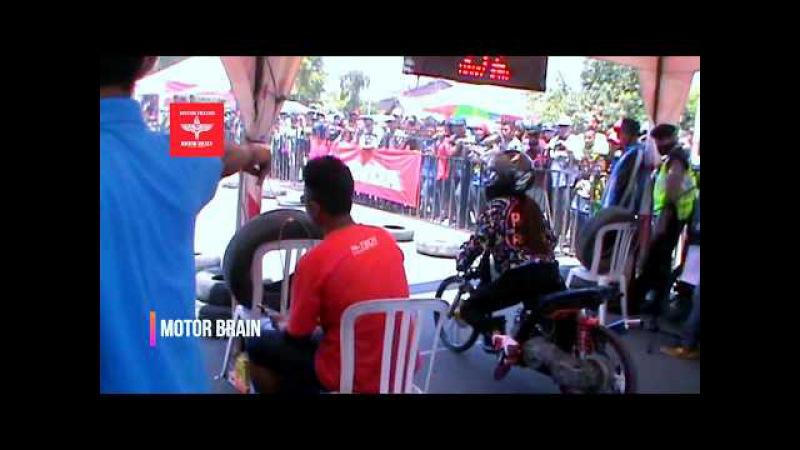 VANY RTM 142 Joki Cewek PENAKLUK Para Pria Di Trek Lurus - Drag Bike