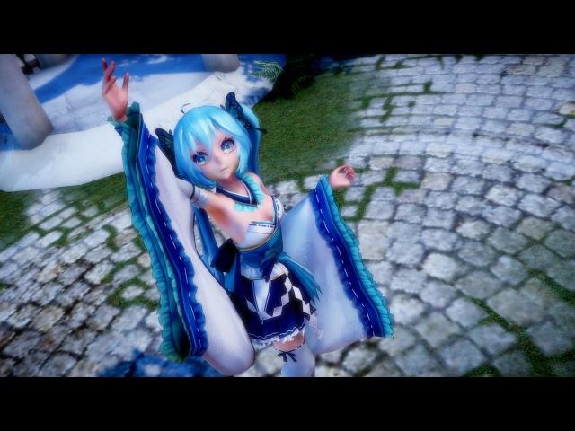 【MMD】極楽浄土 / Gokuraku Jodo - TDA Kimono Miku [1080p 60fps - Raycast Shader]
