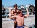 Тренировка Арнольда Шварценеггера в молодости.Arnold Schwarzenegger
