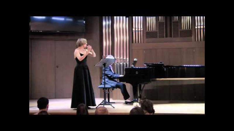 Bela BARTOK. Hungarian Peasant Suite for flute and piano. Olga IVUSHEYKOVA and Cordula HACKE