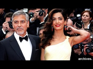 Джодж Клуни и Амаль Аламмудин ждут двойню