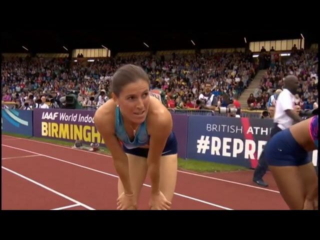 Women's 400m Hurdles Final    Birmingham Diamond League 2017 [HD]