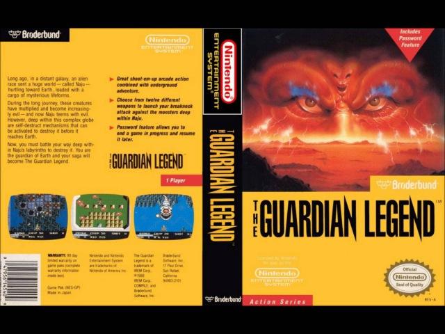 Guardian Legend - NAJU