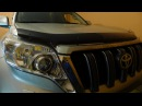Toyota Land Cruiser Prado 2016 г. установка светодиодных би линз Optima Premium Bi LED Lens 4200К