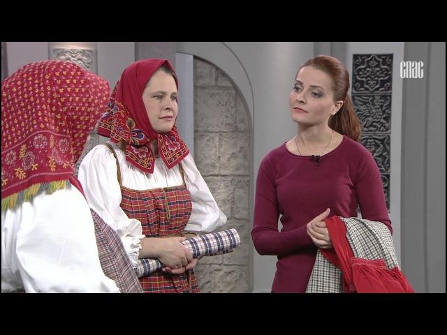 История русского костюма. Повседневный женский костюм.