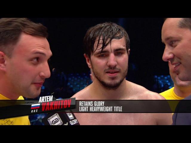 GLORY 35 Nice: Artem Vakhitov vs. Zack Mwekassa (Light Heavyweight Title Fight)