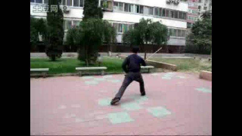 Yiquan - pole training