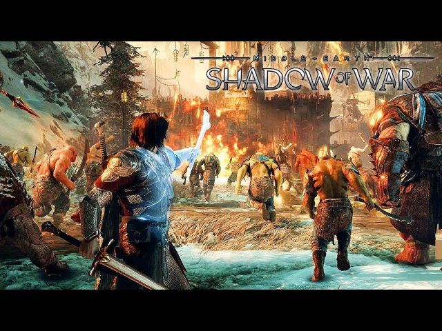 Middle Earth: Shadow of War - Wraith Skills Gameplay @ 1080p HD ✔