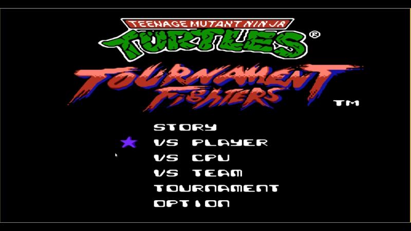 TMNT Tournament Fighters Beyond [NES] Симулятор перекидов, 3й сезон Jamlight vs CentZloy