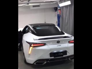 Новый Lexus LC500 2018