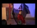 Мой танец живота с платком в кафе на Братиславской в Москве 17 10 2010