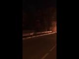 ДТП в Сочи. Сгорел автомобиль. Мацеста, 11.11.17