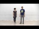 Видео-уроки Буги-вуги (Boogie-woogie). Beginners. Lesson 8. Twists. Kick the dog (eng subs).