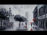 Задождило.... Наслаждаемся творчеством молодого талантливого художника Александра Болотова.
