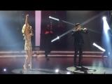 LOBODA и Самвел Варданян на сцене Новой Фабрики Звёзд.