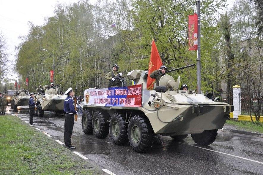 У мемориала Победы в поселении Мосрентген состолся праздничный митинг памяти