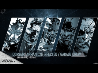 Corsair and Anman b2b Infected / Garage Crew - Live @ Breakpoint / Province (16.11.2017)