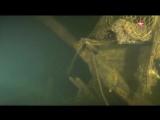 Водолазы спустились к затонувшему парусному фрегату Олег