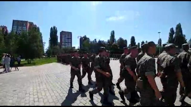 Эстафета вдоль Государственной границы в честь 25-летия образования Пограничной службы КНБ Республики Казахстан