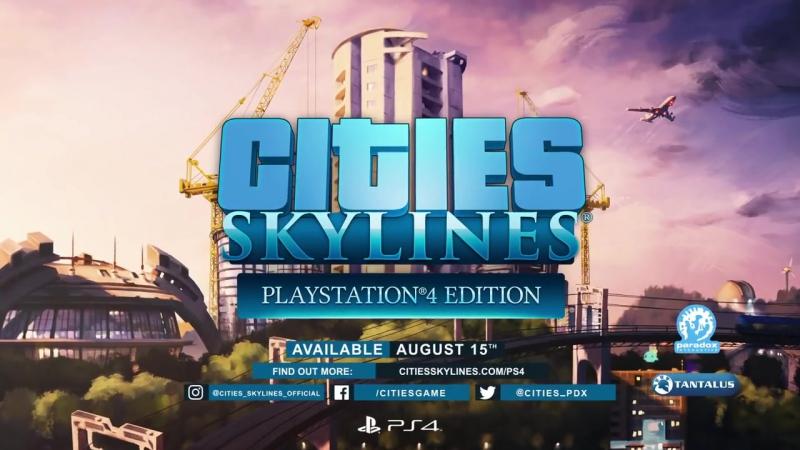 Градостроительный симулятор Cities: Skylines выйдет на Playstation 4!