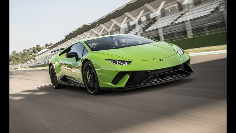 Тест Драйв — Lamborghini Huracan Performante