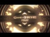 GOT ITALY  - Sigla di Game of Thrones con le città italiane