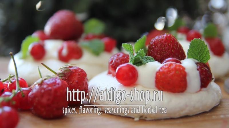 Pavlóva dessert 🇳🇿🍓🥛 - Десерт Павлóва🍰🇷🇺 » Freewka.com - Смотреть онлайн в хорощем качестве