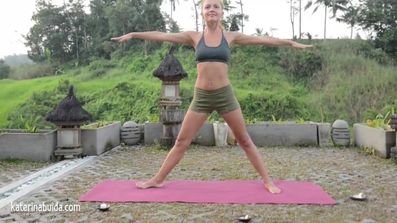 Вечерний комплекс Гармония и равновесие _ Йога для начинающих с Катериной Буйда