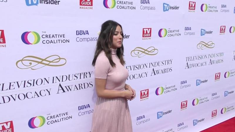 Хлоя прибыла на награждение Television Industry Advocacy Awards в Лос Анджелесе 16 сентября 2017