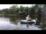 Вот это рыбалка!Поймал щуку,окуня.Ловля на лодке.Жарю стейки и щуку