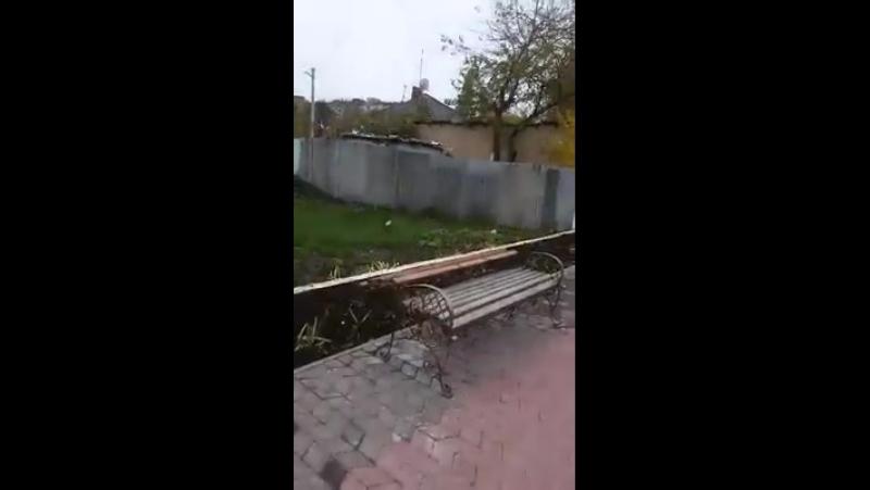 Вандализм возле Хачкара