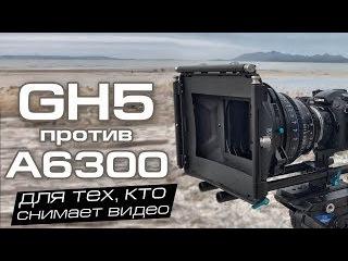Panasonic Lumix GH5 vs Sony A6300/A6500 - тест и сравнение видео