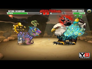 Mutant Fighting Cup 2 (North America Cup 18) Biting Scorpion VS Fiery Eagle (Dog Part 118)