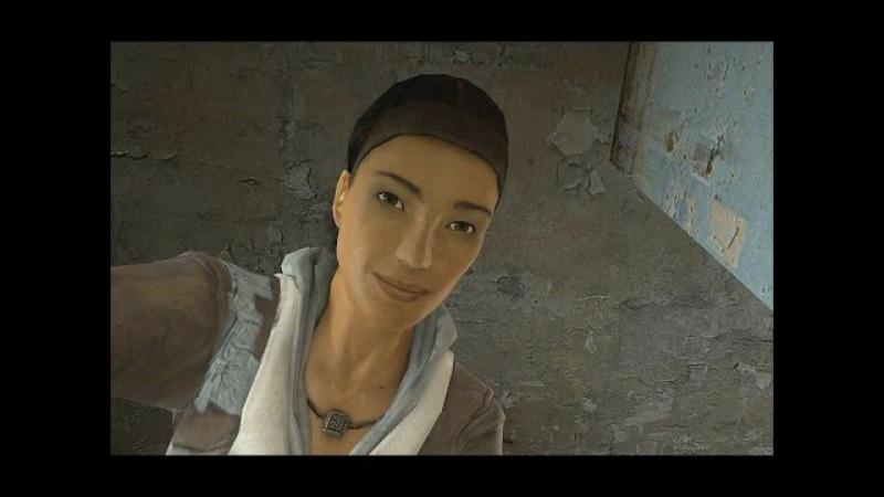 Half-Life 2 — Первое знакомство с Аликс (First meeting with Alyx)