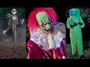 Spirit Halloween 2017 Animatronic Characters Cinematic Quality DavidsTV