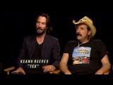 Peter Stormare, Johan Glans And Keanu Reeves Discuss Pop TVs SD